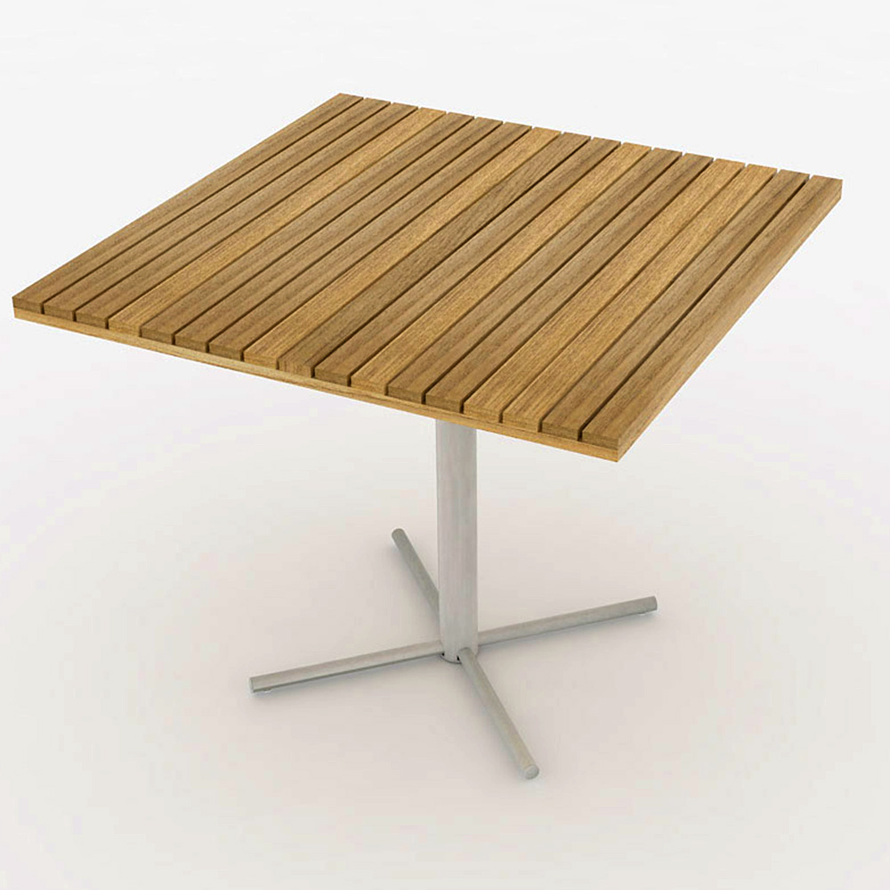 Jazz Table Square Pedestal Base