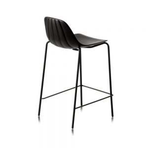 Jane Hamley Wells BABETTE_BABSG-65_A modern counter stool polyurethane seat chrome or painted steel legs