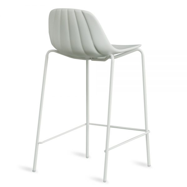 Jane Hamley Wells BABETTE_BABSG-65_B modern counter stool polyurethane seat chrome or painted steel legs