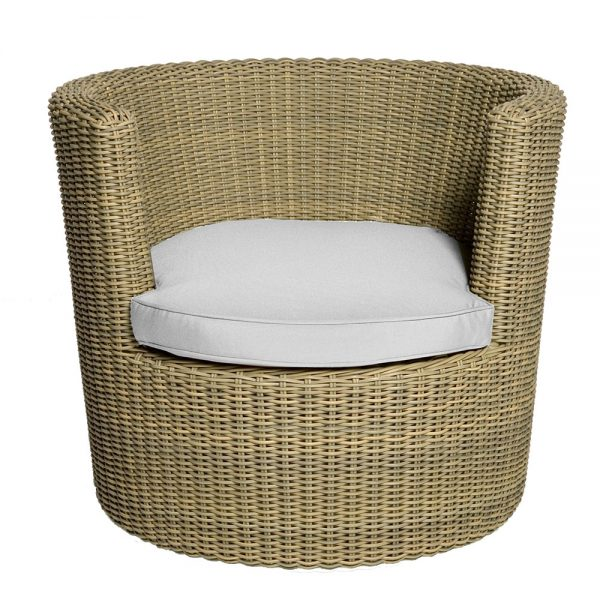 Jane Hamley Wells BASKETCASE_DJBBS01_B indoor outdoor lounge armchair all-weather wicker rattan upholstered cushion