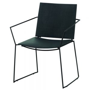 Jane Hamley Wells BB_BB9103-PDC_A contemporary outdoor stacking restaurant armchair mesh seat powder-coated stainless steel