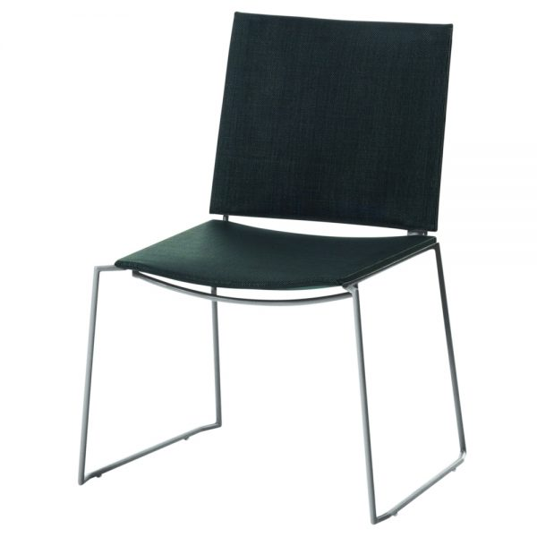 Jane Hamley Wells BB_BB9104-SS_A contemporary outdoor stacking restaurant chair mesh stainless steel