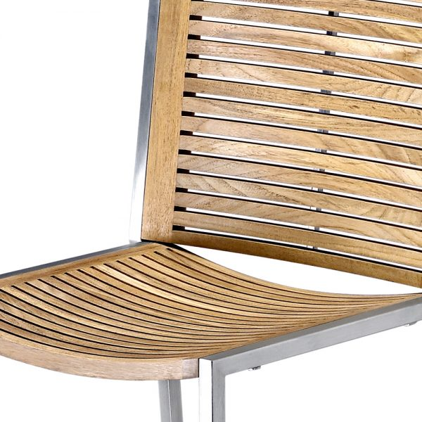 Jane Hamley Wells BEO_BO-9700-C_C modern outdoor counter stool teak seat and back on stainless steel frame