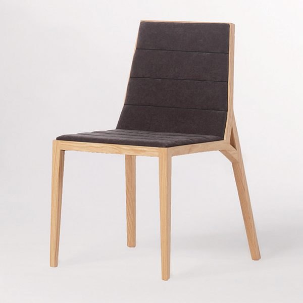 Jane Hamley Wells DREY_002-135_A modern guest side dining chair upholstered seat and back on solid wood legs