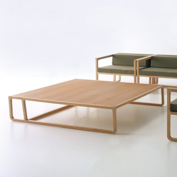 Jane Hamley Wells EFE_5-068_A modern square coffee table wood