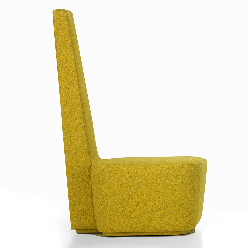 Jane Hamley Wells ELYELLA_1-081_A modern accent lobby lounge chair fully upholstered high back square seat and base