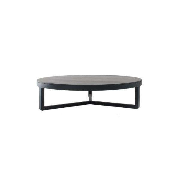Jane Hamley Wells EMA_10-096 modern medium round coffee table wood