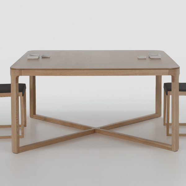 Jane Hamley Wells EMA_43-092_C modern square dining table wood