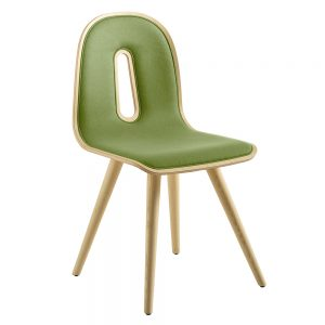 Jane Hamley Wells GOTHAMWOODY_S-I_B modern guest seating upholstered molded wood chair seat on wood legs
