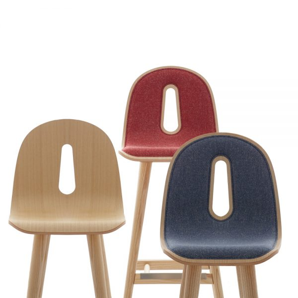 Jane Hamley Wells GOTHAMWOODY_SG-SG-I modern stools bentwood seats on ash wood legs group_2