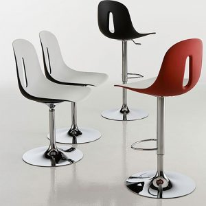Jane Hamley Wells GOTHAM_TSG modern swivel adjustable height counter bar stool group_1