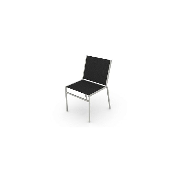 Jane Hamley Wells JAZZ_JZ9101-T_B modern outdoor stacking dining chair mesh seat and stainless steel