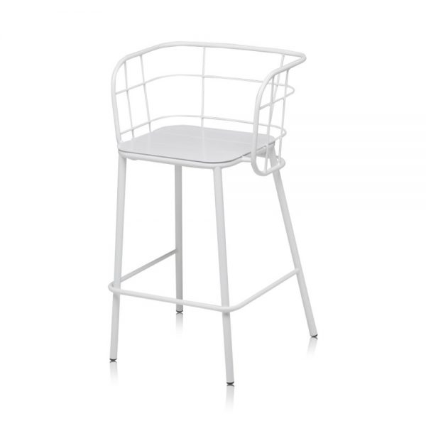 Jane Hamley Wells JULENE_JUJSG_A modern indoor outdoor restaurant bar stool powder-coated steel