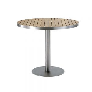 Jane Hamley Wells KURF_8702 luxury modern outdoor round dining table teak stainless steel.jpg