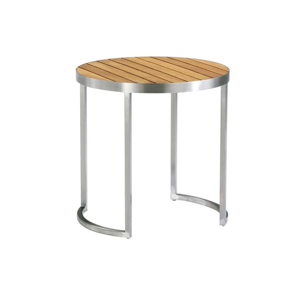 Side Table Teak.Kurf Side Table Round