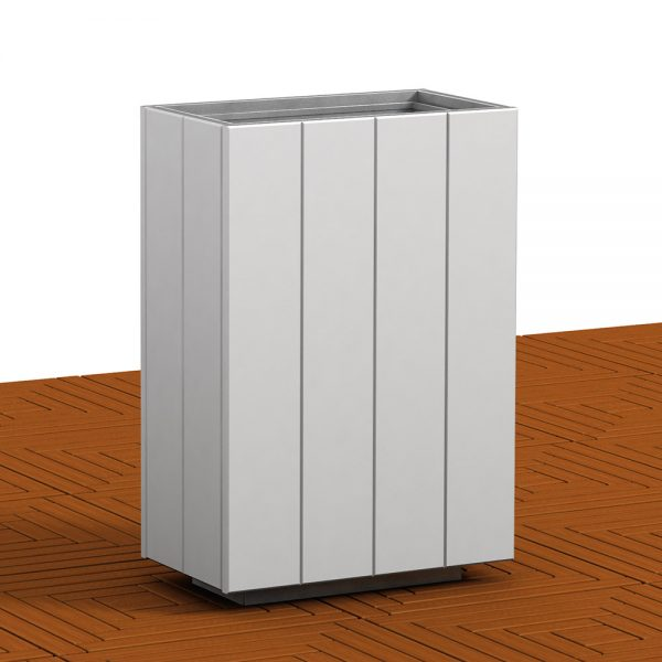 Jane Hamley Wells MONTIEL_PAC1116204 commercial outdoor litter bin trash waste receptacle polyethylene painted steel