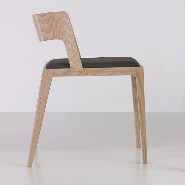 Jane Hamley Wells NORD_2-165_2-172_A contemporary modern restaurant dining armchair upholstered seat and back wood legs