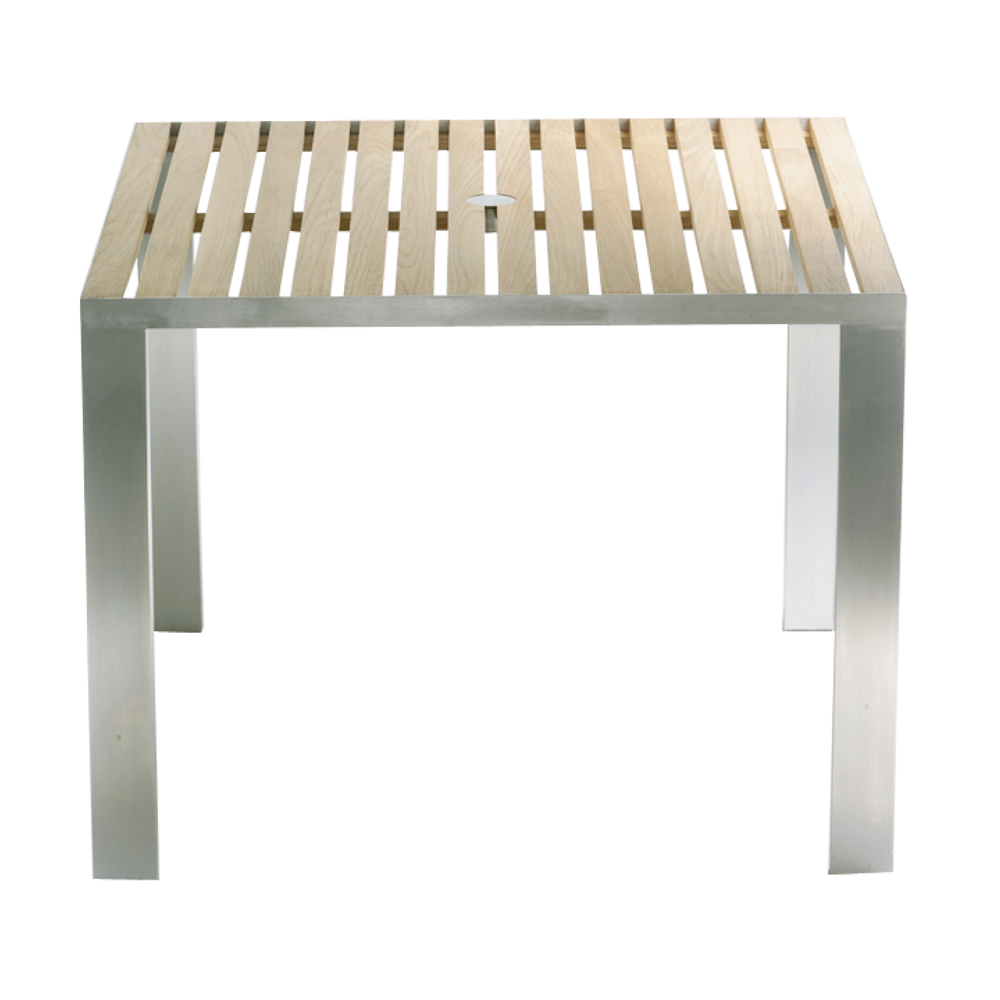 TAJI Table, square, wide