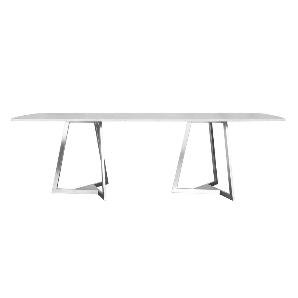 TRIZ Table Rectangle Stone Jane Hamley Wells - Stone top rectangular dining table