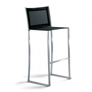 Jane Hamley Wells TT_9303_A modern outdoor indoor bar counter stool mesh seat and back stainless steel frame