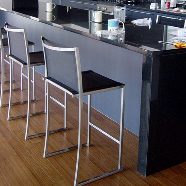 Jane Hamley Wells TT_9303_B modern outdoor indoor bar counter stool mesh seat and back stainless steel frame
