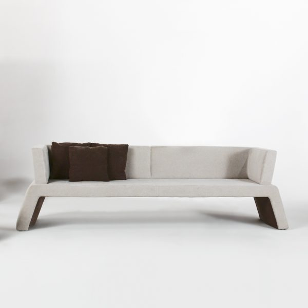 Jane Hamley Wells URBAN_003-001_A 2-Person modern indoor upholstered sofa bench
