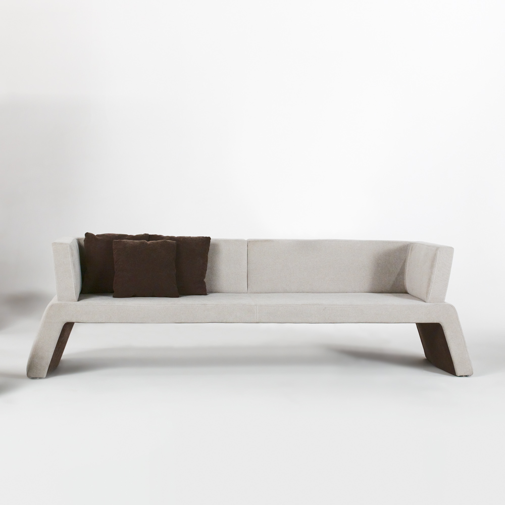 Jane Hamley Wells Urban 003 001 A 2 Person Modern Indoor Upholstered Sofa Bench