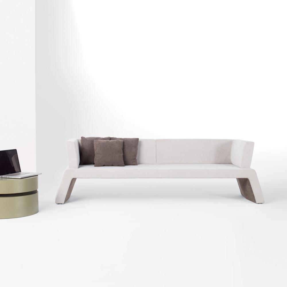 Jane Hamley Wells Urban 006 001 B 3 Person Modern Indoor Upholstered Sofa Bench