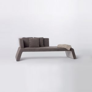 Jane Hamley Wells URBAN_008-001_A 3-Person modern indoor upholstered chaise bench